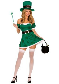 Women's Sexy Leprechaun Costume