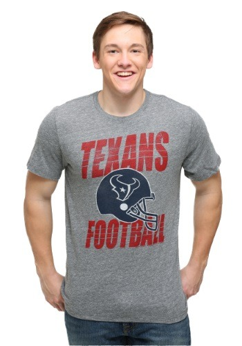 Houston Texans Touchdown Tri-Blend Men's T-Shirt