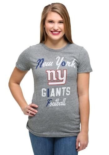 New York Giants Touchdown Tri-Blend Juniors T-Shirt