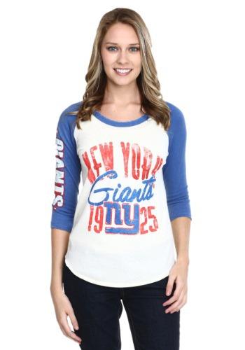 Women's New York Giants All American Raglan Shirt