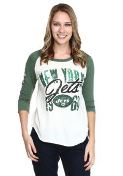New York Jets All American Juniors Raglan Shirt