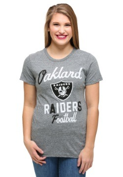 Oakland Raiders Touchdown Tri-Blend Juniors T-Shirt