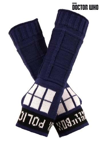 TARDIS Armwarmers Blue
