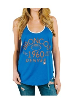 Denver Broncos Time Out Tank Juniors
