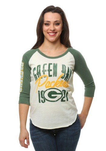 Green Bay Packers All American Raglan Juniors