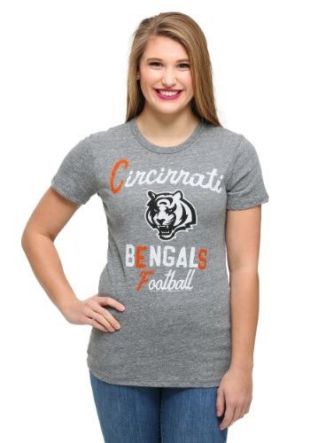 Cincinnati Bengals Touchdown Tri-Blend Juniors T-Shirt