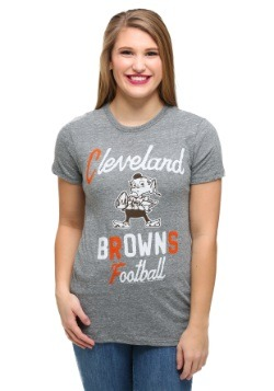 Cleveland Browns Touchdown Tri-Blend Juniors T-Shirt