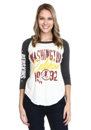 Washington Redskins All American Juniors Raglan Shirt