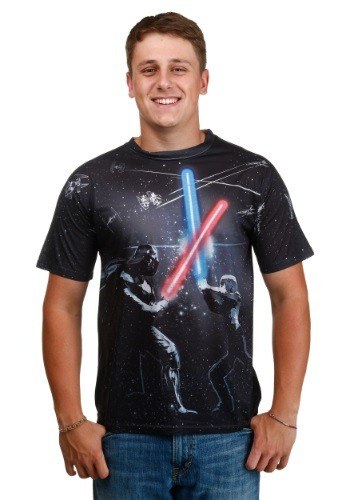 Men's Star Wars All-Over Battle T-Shirt
