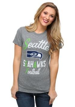 Seattle Seahawks Touchdown Tri-Blend Juniors T-Shirt