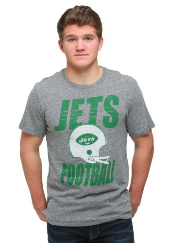 New York Jets Touchdown Tri-Blend Men's T-Shirt