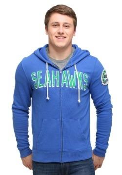 Seattle Seahawks Sunday Mens Zip Up Hoodie