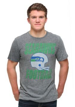 Seattle Seahawks Touchdown Tri-Blend Men's T-Shirt