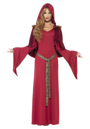 Women's Red High Priestess Costume