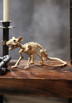 Mini Halloween Rat Skeleton Decoration