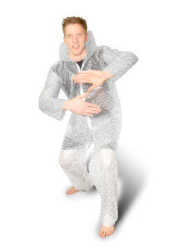 Bubble Wrap Adult Costume