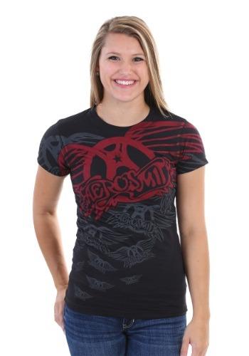 Aerosmith Walk This Way Juniors T-Shirt