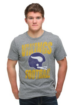 Minnesota Vikings Touchdown Tri-Blend Men's T-Shirt