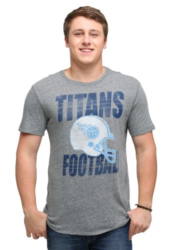 Tennessee Titans Touchdown Tri-Blend Men's T-Shirt