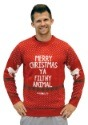 Plus Size Home Alone Red Merry Christmas Ya Filthy Animal Sw