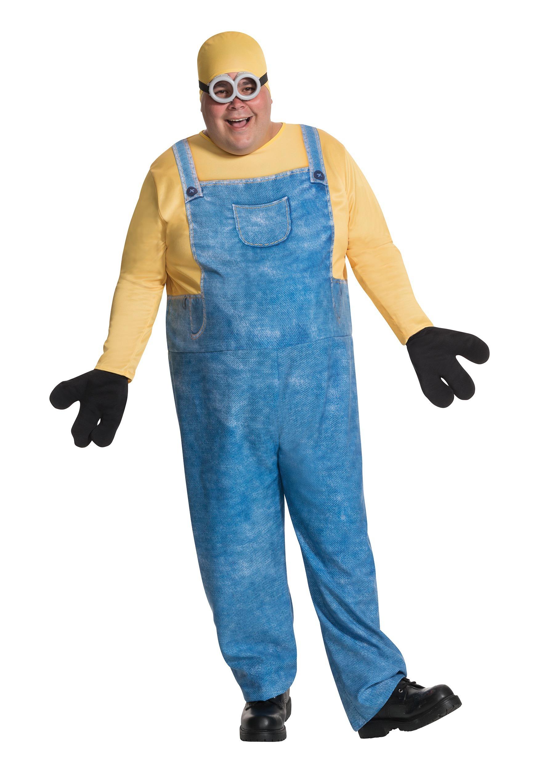 Plus Size Minion Bob Costume  sc 1 st  Fun UK & Minion Bob Plus Size Costume