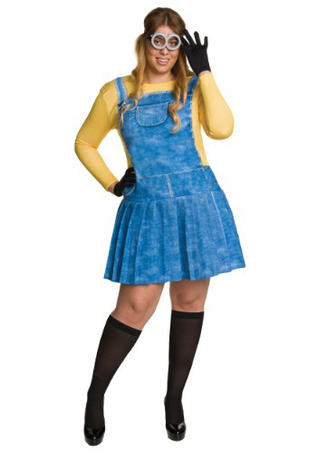 Adult Plus Size Female Minion Costume