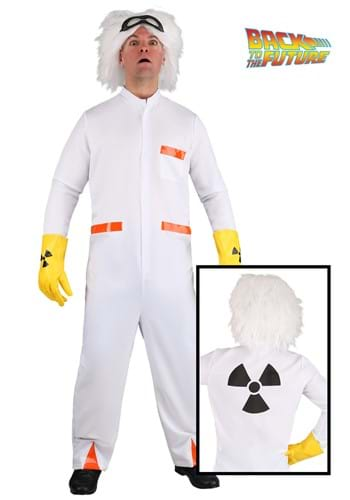 Plus Size Doc Brown BTTF1 Costume