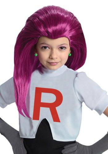 Child Jessie Team Rocket Wig