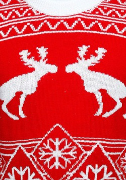 Pooping Moose Ugly Christmas Sweater2