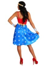 Deluxe Long Dress Wonder Woman Womens Costume