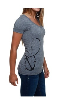 Womens Refuse to Sink Infinity Sign T-Shirt