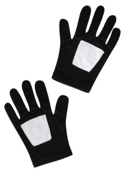 Child Black Spider-Man Gloves