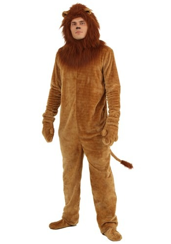 Deluxe Lion Plus Size Mens Costume