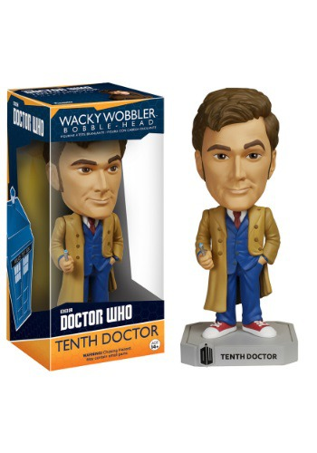 Doctor Who 10th Doctor Wacky Wobbler