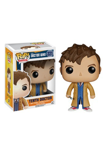 POP! Doctor Who Tenth Doctor Vinyl Figure