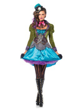 Deluxe Women's Mad Hatter Costume