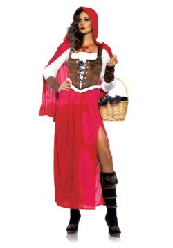 Sexy Women's Woodland Red Riding Hood Costume