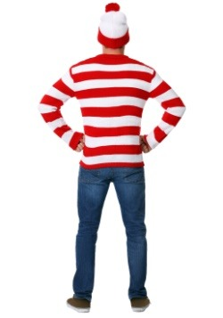 Deluxe Where's Waldo Adult Sweater Costume2