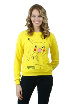 Pokemon Pika Classic Jump Juniors Sweatshirt