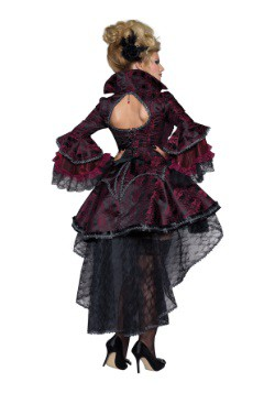 Elegant Victorian Vamp Womens Costume2