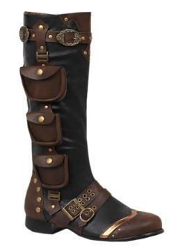 Men's Steampunk Costume Boots