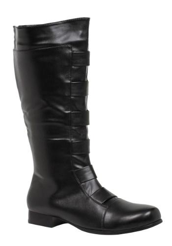 Adult Black Superhero Boots