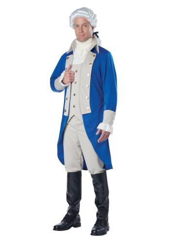 Mens George Washington Costume