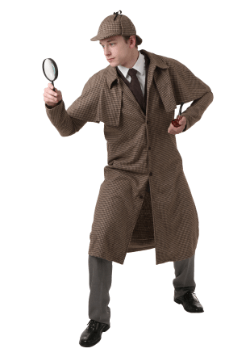 Adult Sherlock Holmes Costumes