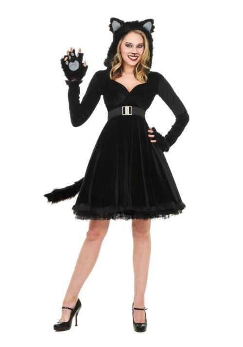 Black Cat Womens Costume