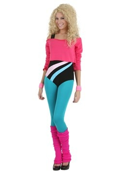 Women's 80's Workout Girl Costume
