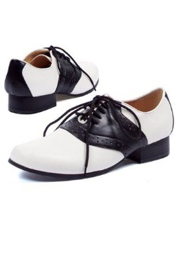 Womens Vintage Saddle Shoes