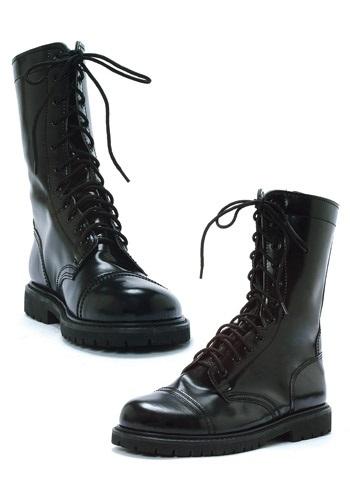 Adult Black Combat Boots