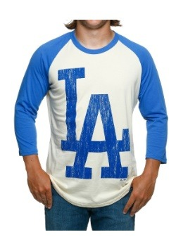Raglan Shirt Los Angeles Dodgers