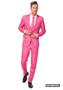 Men's SuitMeister Basic Pink Suit